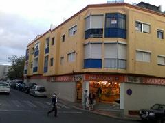 Wohnung liegt im 2.Stock, blauer Erker an der Ecke