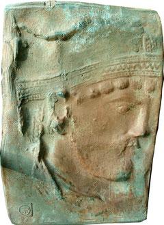 Bas relief Saint Loup de Naud (Seine et Marne)