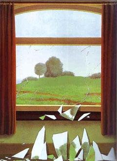 La Clé des Champs ( The Key to the Fields ) - René Magritte
