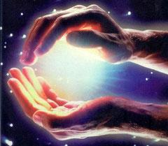 L'énergie dans les mains