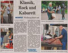 Pressebericht Teil 2 Weilburger Tageblatt 23 06 2013