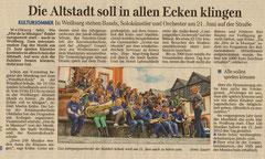 Artikel Weilburger Tageblatt 28 05 2013