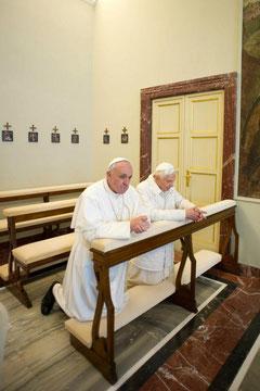 Papa Franjo i Benedikt XVI