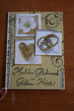 Katenauftrag für eine goldene Hochzeit