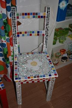 Mein Mosaikstuhl