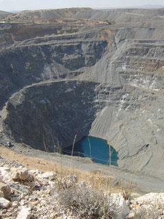 Efectos de la minería a cielo abierto. Cerro de San Pedro, S.L.P.