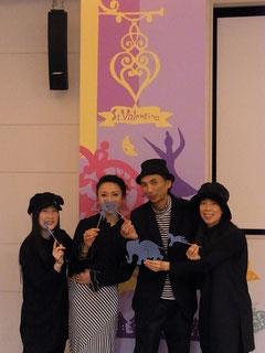 YUKI☆+伊藤ちか子+太田拓美+篠崎亜紀