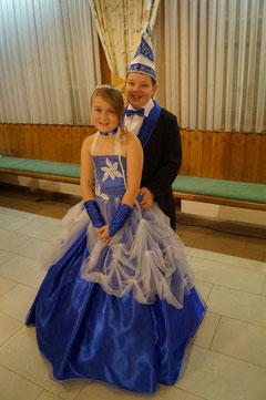 Kinderprinzenpaar 2013 Annalena I. & Nico II.