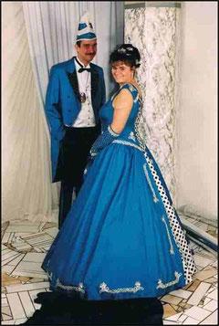 Prinzenpaar 2000 Daniela I. & Markus I.
