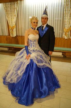 Prinzenpaar 2013 Katharina I. & Josef II.