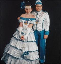 Kinderprinzenpaar 2000 Miriam II. & Markus I.