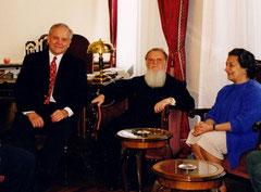 CNE, the Ecumenical Patriarch Bartholomew, and Maria Becket, Greece, 2002