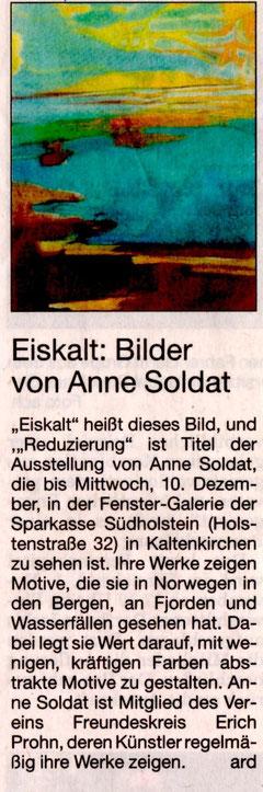 Segeberger Zeitung 14.10.2014