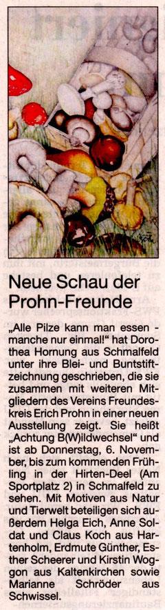 Segeberger Zeitung 04.11.2014