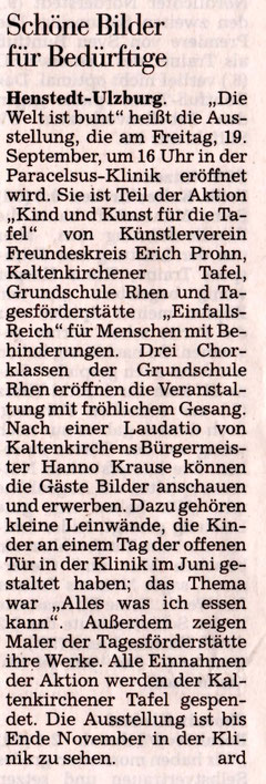 Segeberger Zeitung 16.09.2014