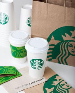 Foto Identidad corporativa de Starbucks.