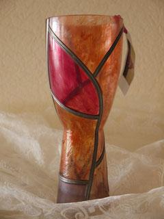 Tandance orangée - 35 cm env.