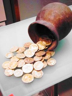 In Emporion gefundener Münz-Schatz