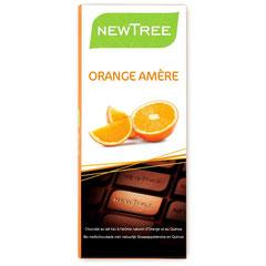【1】 ORANGE & MILK CHOCOLATE      (50% カカオ&オレンジフレーバー)