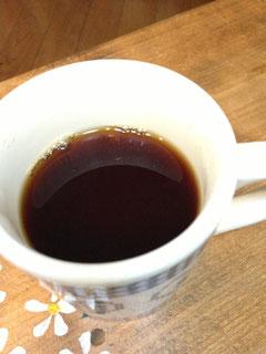 透き通った綺麗なコーヒー