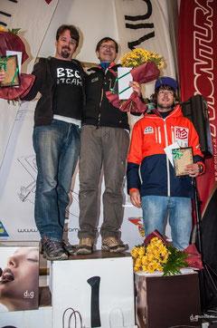 Tropheo Monte Grappa 2013 mit Nr.1 Jean Pierre Philippe v.l.