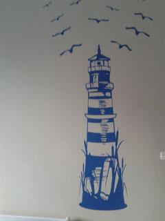 Leuchtturm im Kinderzimmer