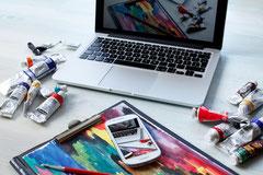 Online-Teamkunst, Digitale Teamkunst, Team Kunst online, Teamkunst für Firmen, Teambuilding, Firmenenvent, Teamaktion