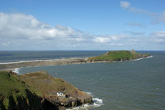 Worm's Head bei Ebbe