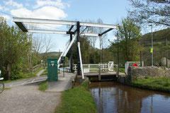 Zugbrücke über den Monmouth-Brecon Kanal