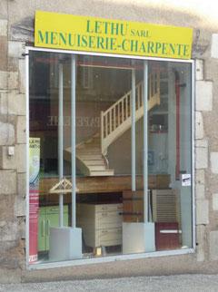 Magasin de la menuiserie LETHU à Couhé (Valence en Poitou) 86
