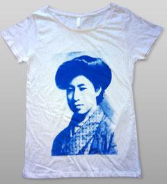 平塚らいてうTシャツ RLL製