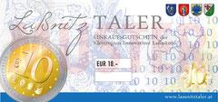 € 10,00 LaßnitzTALER