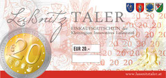 € 20,00 LaßnitzTALER