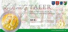 € 50,00 LaßnitzTALER