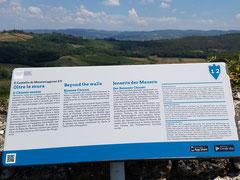 Info-Tafel zur Umgebung...