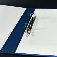 Ringbuch mit Bügel-Mechanik