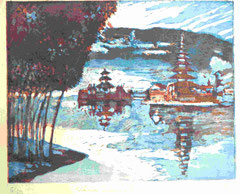 Ulu Danu -Bambusgarten