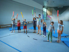Ferienprogramm August 2014 in Michelbach/ Bilz mit Boomwhackers