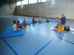 Ferienprogramm August 2014 in Michelbach/Bilz mit Boomwhackers