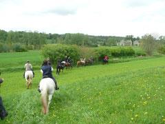 Randonnée Cheval Aisne