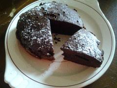 Gâteau au chocolat par Bibisam