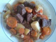 Bourguigon carottes patates