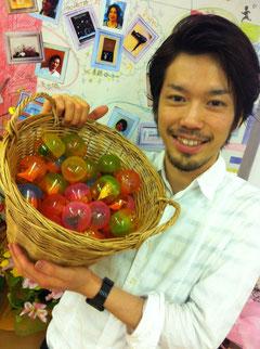 N氏でなく斉藤さん作成のカプセル!会計後にお楽しみも!