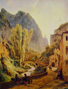 """Teodore Duclere """"La valle dei mulini di Gragnano e Amalfi"""""""