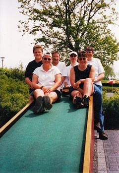 Die Teilnehmer von links: Christian Somnitz, Manuela Brüger, Michael Reinicke, Frank Quandt, Andrea Reinicke, Dieter Wendlandt