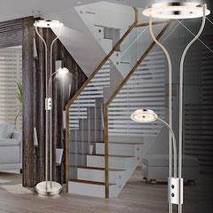 Stehlampe Deckenfluter