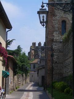 die Altstadt von Lazise/Gardasee