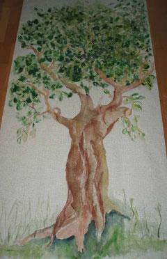 Kulissenbaum - Mischtechnik