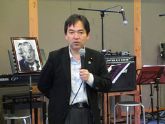 古賀先生と親交のあった、浅尾慶一郎代議士