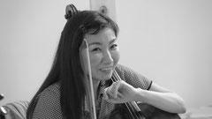チェロ奏者 柚木菁子さん